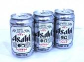 Canned beer ASAHI 330mlx24